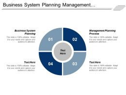 Business System Planning Management Planning Process Learning Development Cpb