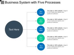 Business System With Five Processes