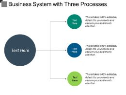Business System With Three Processes