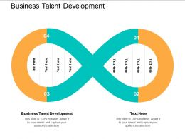 Business Talent Development Ppt Powerpoint Presentation File Example File Cpb
