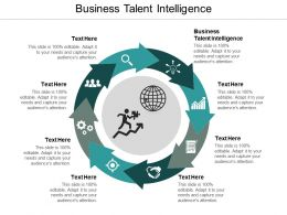 Business Talent Intelligence Ppt Powerpoint Presentation Icon Outfit Cpb