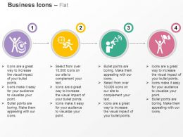 Business Target Achievement On Time News Announcement Success Ppt Icons Graphic