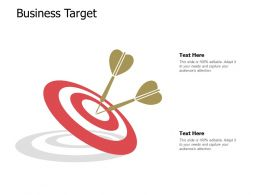 Business Target Arrow A568 Ppt Powerpoint Presentation Layouts Show