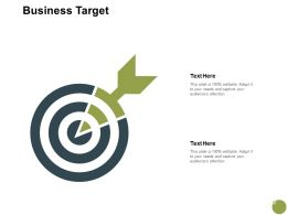Business Target Arrow Planning A690 Ppt Powerpoint Presentation Slides Topics