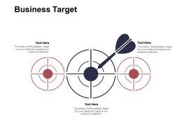 Business Target Arrows Goal Ppt Powerpoint Presentation Ideas Backgrounds