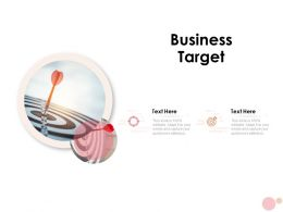 Business Target Arrows Ppt Powerpoint Presentation Icon Gridlines
