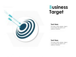 Business Target Arrows Ppt Powerpoint Presentation Infographic Template Layouts