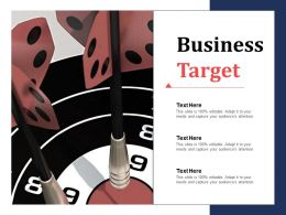 Business Target Ppt Infographic Template Designs Download