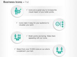 Business Target Selection Organizational Chart Balance Teamwork Ppt Icons Graphics