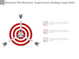 Business Target Selection Strategy Diagram Powerpoint Slides