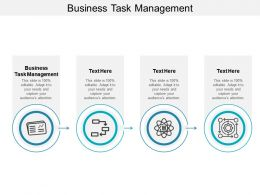 Business Task Management Ppt Powerpoint Presentation Ideas Introduction Cpb