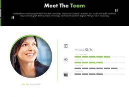 55731558 Style Essentials 1 Our Team 1 Piece Powerpoint Presentation Diagram Infographic Slide