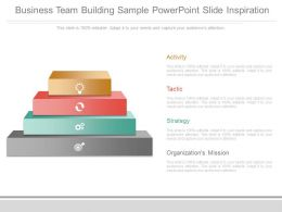 Business Team Building Sample Powerpoint Slide Inspiration