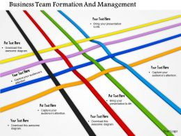 Business Team Formation And Management Image Graphics For Powerpoint