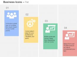 Business Team Gears Growth Bar Graph Representation Ppt Icons Graphics
