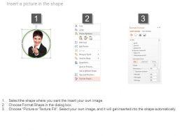 47972930 Style Essentials 1 Our Team 5 Piece Powerpoint Presentation Diagram Infographic Slide