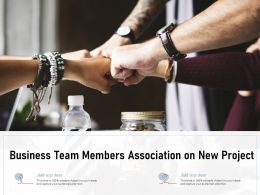 Business Team Members Association On New Project