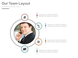 Business Team Professional With Icons Powerpoint Slides