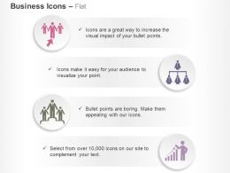 Business Team Selection Success Organizational Chart Presenting Growth Chart Ppt Icons Graphics