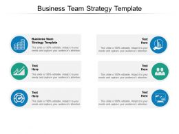Business Team Strategy Template Ppt Powerpoint Presentation Gallery Brochure Cpb