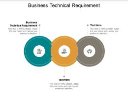 Business Technical Requirement Ppt Powerpoint Presentation File Background Image Cpb
