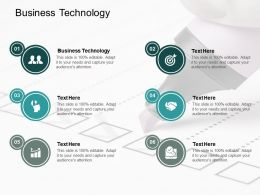 Business Technology Ppt Powerpoint Presentation Infographic Template Example 2015 Cpb