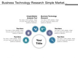Business Technology Research Simple Market Analysis Tool Business Databases Cpb