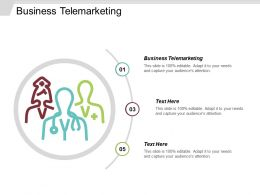 Business Telemarketing Ppt Powerpoint Presentation File Example Cpb