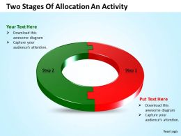 Business Templates two state diagram ppt of allocation an activity Sales Slides