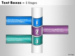 Business Text Boxes 3 Stages 27