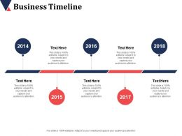 Business Timeline Ppt Infographic Template Design Inspiration