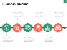 Business Timeline Process Ppt Powerpoint Presentation Portfolio Portrait