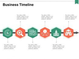 Business Timeline Process Ppt Powerpoint Presentation Portfolio Portrait