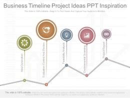 Business Timeline Project Ideas Ppt Inspiration