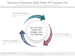 Business To Business B2b Toolkit Ppt Example File