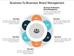 Business To Business Brand Management Ppt Powerpoint Presentation Icon Slide Cpb