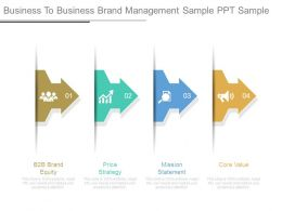 Business To Business Brand Management Sample Ppt Sample
