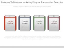 Business To Business Marketing Diagram Presentation Examples