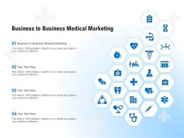 Business To Business Medical Marketing Ppt Powerpoint Presentation Pictures