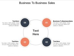 Business To Business Sales Ppt Powerpoint Presentation Inspiration Icon Cpb