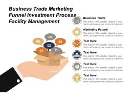 Business Trade Marketing Funnel Investment Process Facility Management