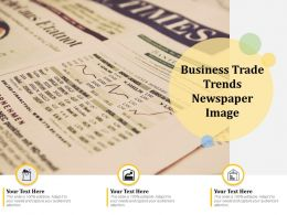 Business Trade Trends Newspaper Image