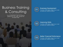 Business Training And Consulting Ppt Examples