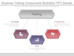 Business Training Components Illustration Ppt Sample