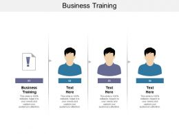 Business Training Ppt Powerpoint Presentation Professional Layout Ideas Cpb