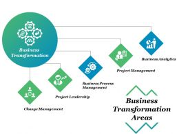 Business Transformation Areas Business Analytics Project Management