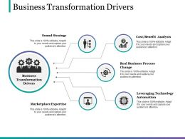Business Transformation Drivers Powerpoint Slide Designs Download