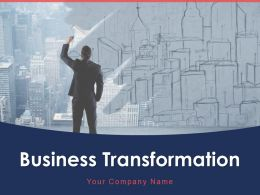 Business Transformation Planning Strategy Analysis Process Technology Automation