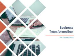 Business Transformation Powerpoint Presentation Slides