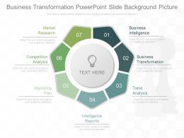 Business Transformation Powerpoint Slide Background Picture